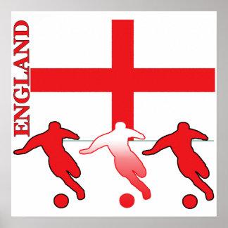 Soccer England Poster