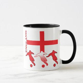 Soccer England Ringer Mug