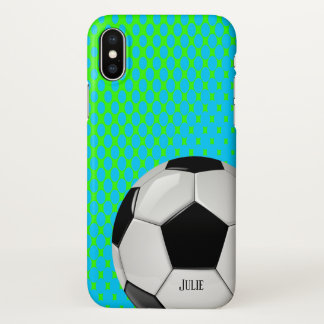 Soccer Fan iPhone X Case
