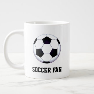 Soccer Fan Jumbo Mug