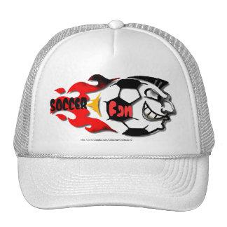 """Soccer Fan Madness-ball cap"" Hats"