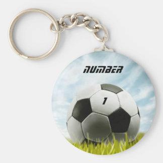 Soccer fans key ring