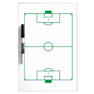 Soccer field clipboard Dry-Erase whiteboards
