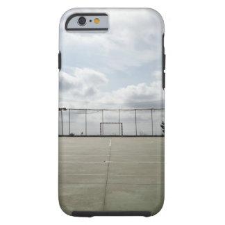 Soccer field in Barcelona Spain iPhone 6 Case