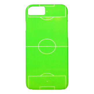Soccer Field Neon Green iPhone 7 Case