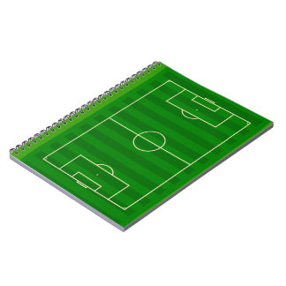 Soccer Field Notebook