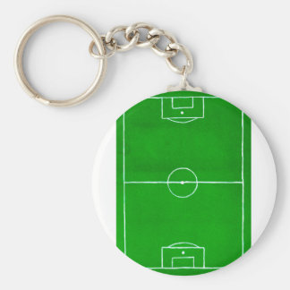 Soccer Field Sketch2 Key Ring