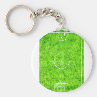 Soccer Field Sketch Key Ring