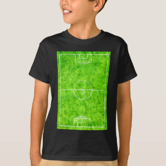 Soccer Field Sketch T-Shirt