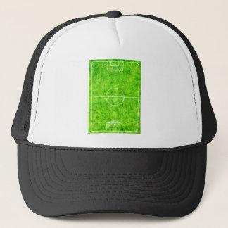 Soccer Field Sketch Trucker Hat
