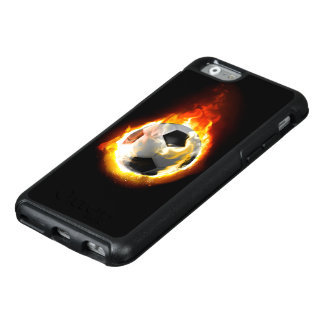 Soccer Fire Ball OtterBox iPhone 6 Case
