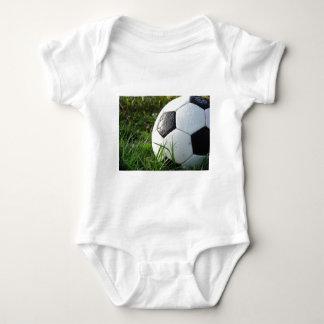 Soccer~ Foot Ball in field Baby Bodysuit