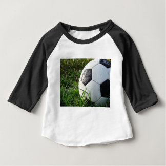 Soccer~ Foot Ball in field Baby T-Shirt