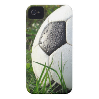 Soccer~ Foot Ball in field Case-Mate iPhone 4 Case