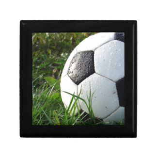 Soccer~ Foot Ball in field Gift Box