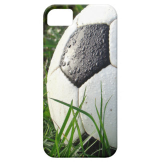 Soccer~ Foot Ball in field iPhone 5 Cover