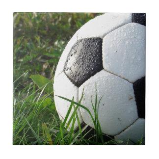 Soccer~ Foot Ball in field Tile