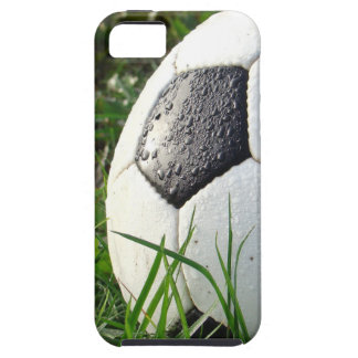 Soccer~ Foot Ball in field Tough iPhone 5 Case