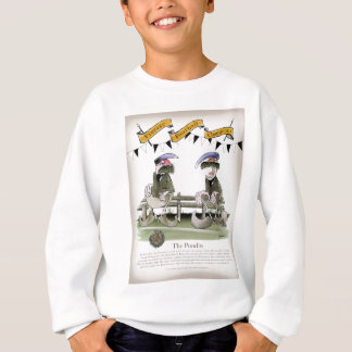 soccer football b + w team pundits sweatshirt