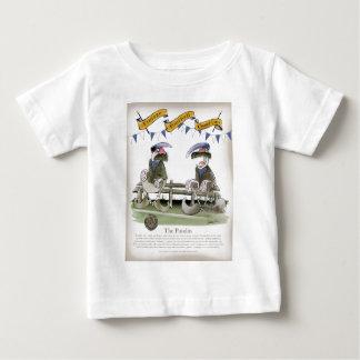 soccer football blue team pundits baby T-Shirt