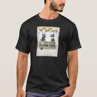 soccer football blue team pundits T-Shirt