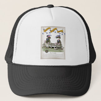 soccer football blue team pundits trucker hat