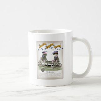soccer football blues pundits coffee mug