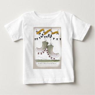 soccer football boots b + w team baby T-Shirt