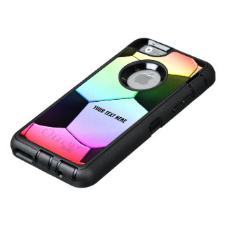 Soccer | Football Colorful Girly Gift OtterBox iPhone 6/6s Case
