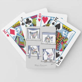 soccer football dog blues forever bicycle playing cards