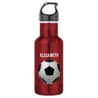 Soccer Football Name customized 532 Ml Water Bottle