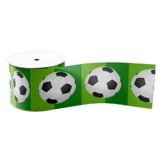 Soccer/Football Party Grosgrain Ribbon