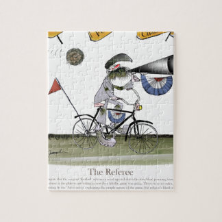 soccer football referee jigsaw puzzle