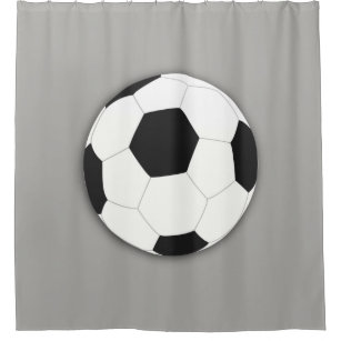 Soccer FootBall Sport Shower Curtain