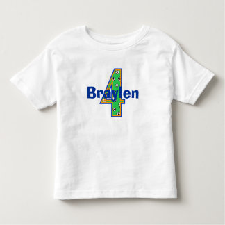 Soccer Fourth Birthday Boy Shirt