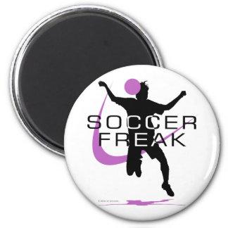 Soccer Freak - Girls - Pink Magnet