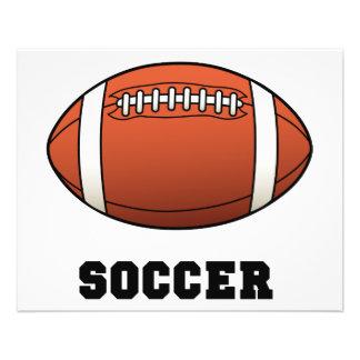 Soccer Futball Football 11.5 Cm X 14 Cm Flyer