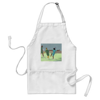 Soccer Game, Apron