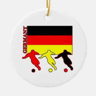 Soccer Germany Ceramic Ornament