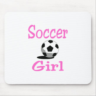 Soccer Girl Mouse Pad