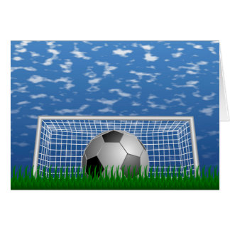Soccer Goal Card