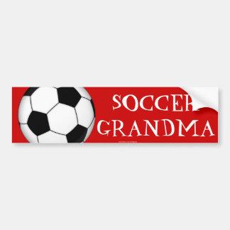 Soccer grandma bumper sticker