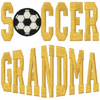 Soccer Grandma Embroidered Shirts