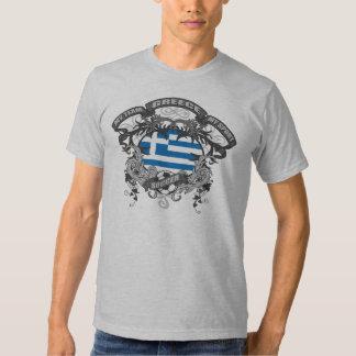 Soccer Greece Tee Shirts