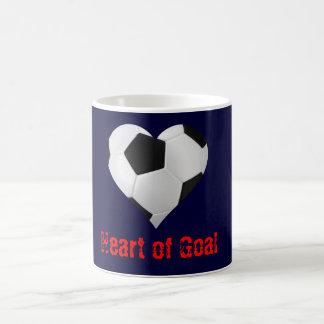 Soccer Heart of Goal Mugs