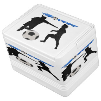 Soccer Igloo 12 Can Cooler