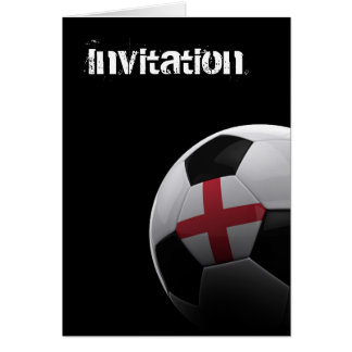 Soccer in England Greeting Card