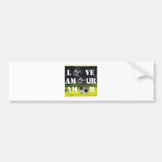 Soccer inspire loves bumper sticker