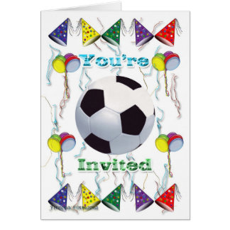 Soccer Invitation  birthday
