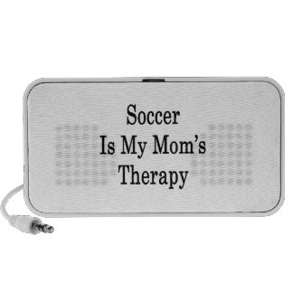 Soccer Is My Mom's Therapy Notebook Speaker